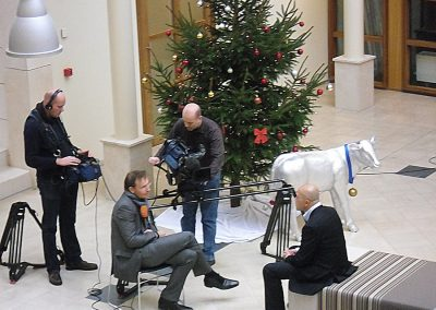 TV Interview NOS Public Broadcasting