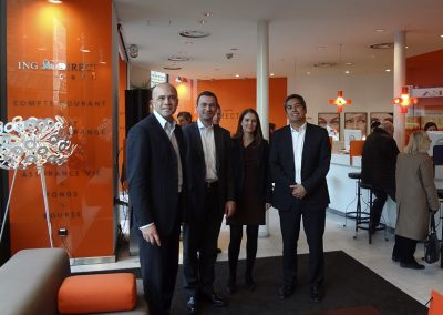 Book launch French edition RFS - with Benoit Legrand of ING Direct France